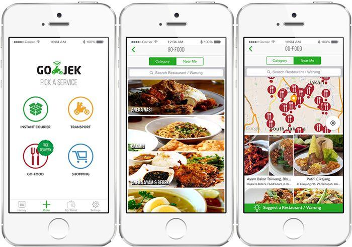 Fitur dari aplikasi Go-Jek yang memudahkan