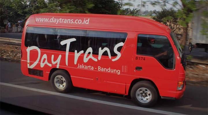 Shuttle Bus Terjadwal Jakarta Bandung yang Bisa Booking Online