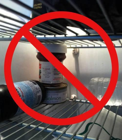 Jangan masukkan nutella di kulkas