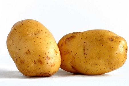 kentang mentah