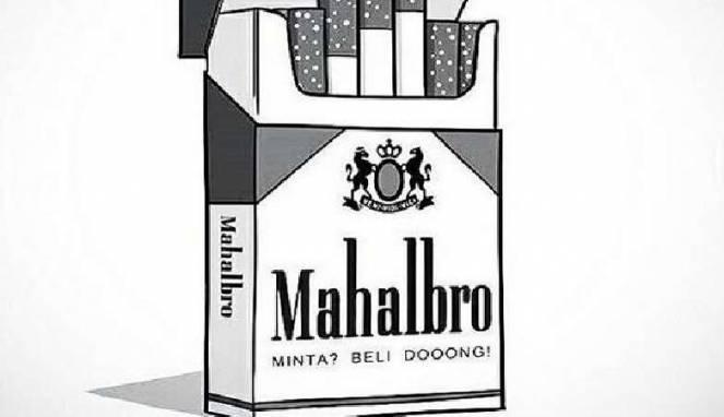 Salah satu meme tentang harga rokok naik (Instagram/@putra_machena)